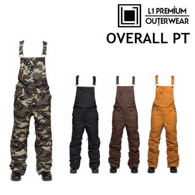 [最大3000円クーポン配布中] L1 エルワン ウエア OVERALL PANTS オーバーオール パンツ