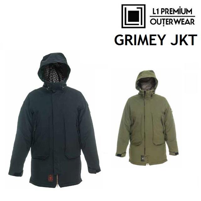 19-20 L1 エルワン GRIMEY JACKET グライミー ジャケット ウエア メンズ スノーボード日本正規品