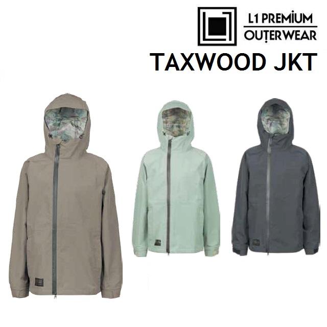 19-20 L1 エルワン TAXWOOD JACKET タックスウッド ジャケット ウエア メンズ スノーボード日本正規品