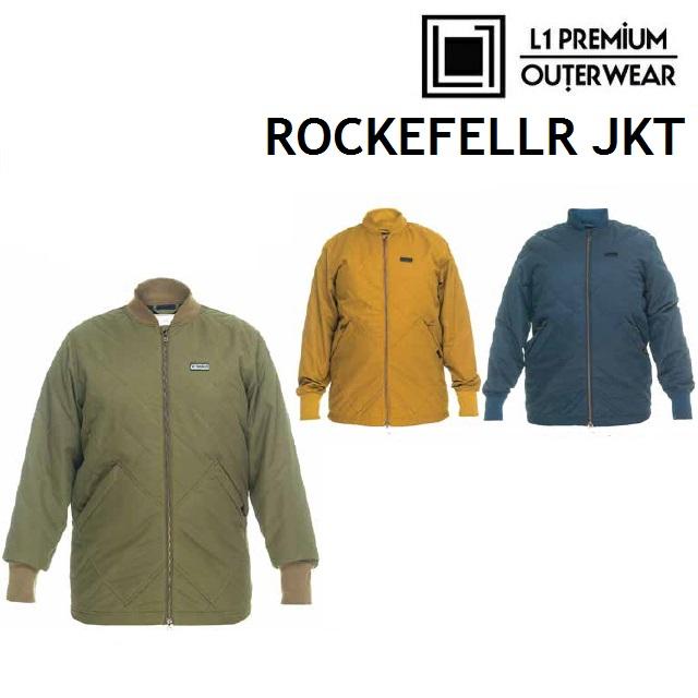 [最大3000円クーポン配布中] 19-20 L1 エルワン ウエア ROCKEFELLER JACKET ロックフェラー ジャケット