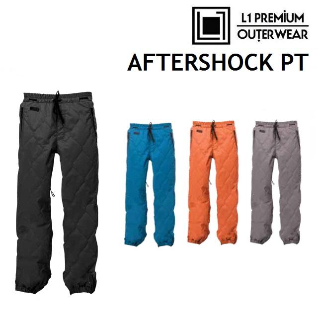 19-20 L1 エルワン AFTERSHOCK PANTS アフターショック パンツ ウエア メンズ スノーボード 日本正規品