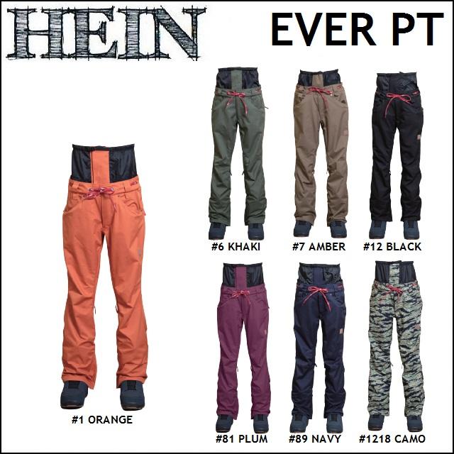 18-19 HEIN ヘイン WEAR ウエア EVER PANTS エバー パンツ