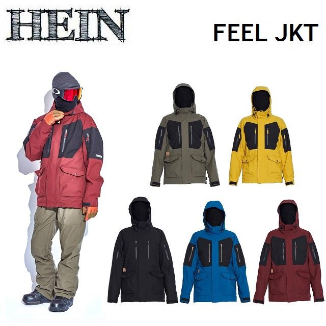 19-20 HEIN ヘイン FEEL JACKET フィール ジャケット WEAR ウエア メンズ レディース スノーボード