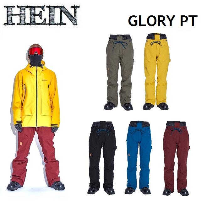 19-20 HEIN ヘイン GLORY PANTS グローリー パンツ WEAR ウエア メンズ レディース スノーボード