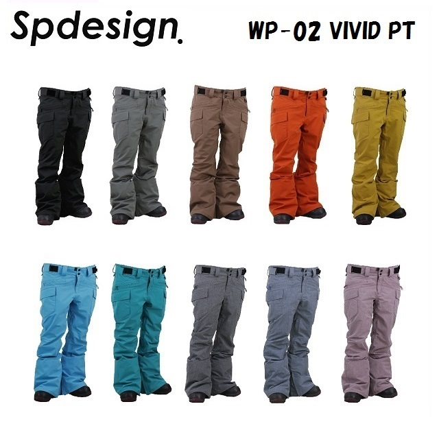 SP-DESIGN (エスピーデザイン) ウエア WP-02 VIVID PANTS (ビビット パンツ) [レディース]