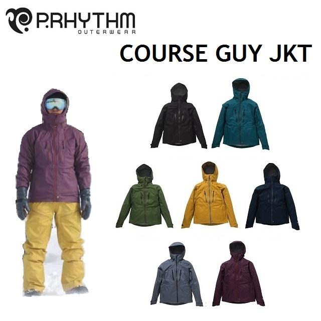 P.RHYTHM プリズム ウエア COURSE GUY JACKET コースガイ ジャケット