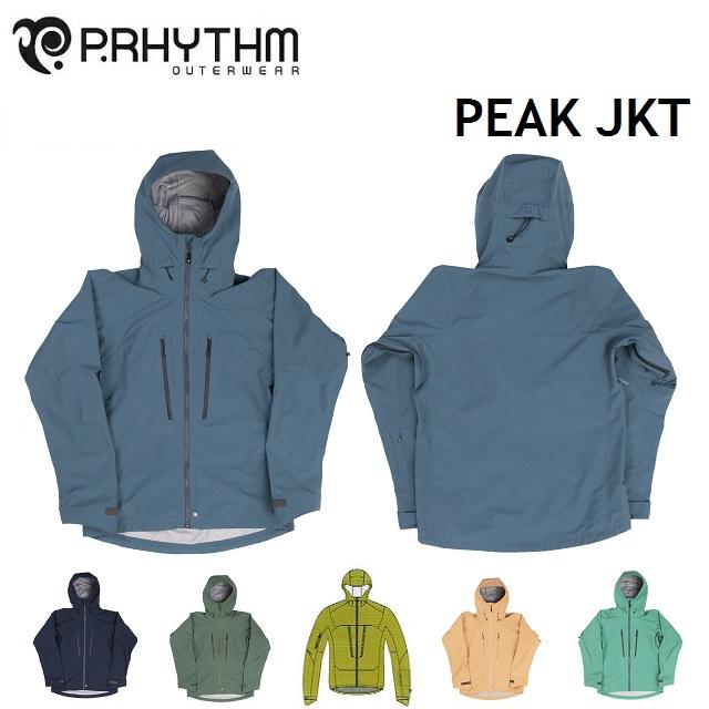 19-20 P.RHYTHM プリズム PEAK JACKET ピーク ジャケット ウエア メンズ レディース スノーボード
