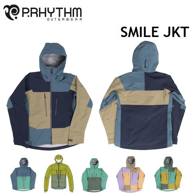 19-20 P.RHYTHM プリズム SMILE JACKET スマイル ジャケット ウエア メンズ レディース スノーボード