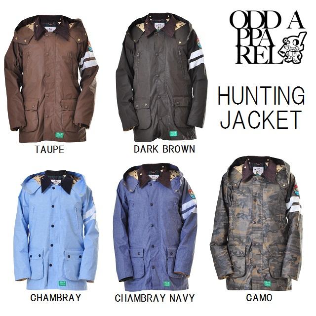 ODD(アド) ウエア HUNTING JACKET (ハンチング ジャケット) マウンテンロックスター