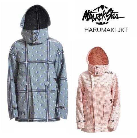 MOUNTAIN ROCK STAR マウンテンロックスター ウエア HARUMAKI JACKET ハルマキ ジャケット プリントカラー