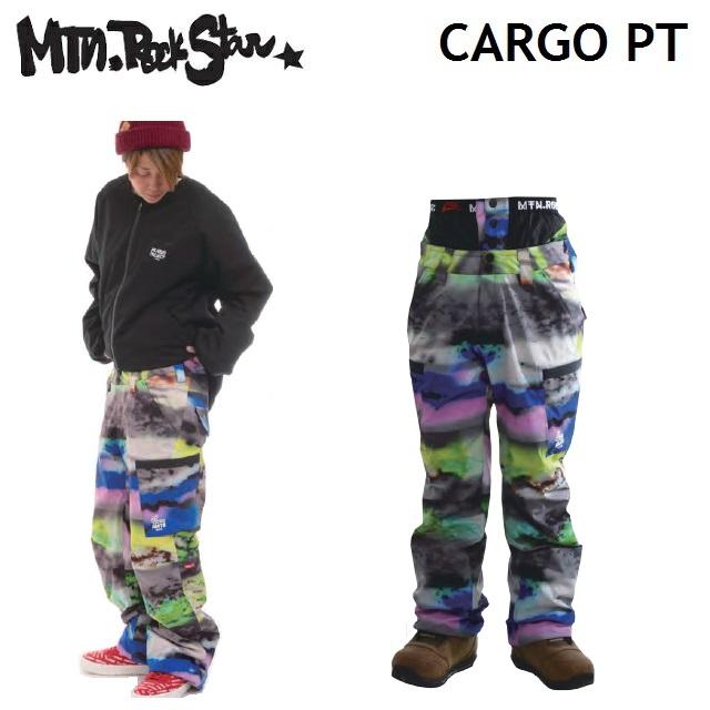 19-20 MOUNTAIN ROCK STAR マウンテンロックスター CARGO PANTS カーゴパンツ CLOUD RAINBOW ウエア メンズ レディース スノーボード