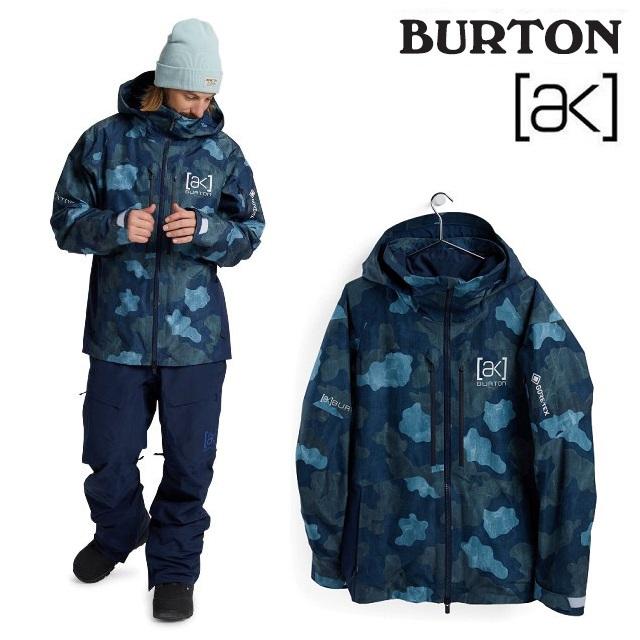 2020-2021 BURTON バートン 20-21 AK GORE-TEX 2L SWASH JACKET 実物 ゴアテックス スノーボード 日本正規品 ウエア TELO スワッシュ DRESS メンズ ジャケット BLUE 開店記念セール CAMO