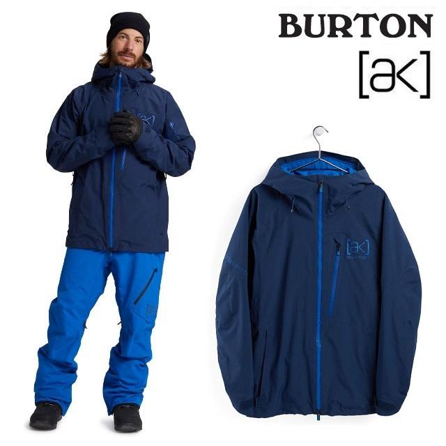 2020-2021 BURTON バートン 20-21 AK 人気商品 GORE-TEX 2L CYCLIC JACKET BLUE スノーボード サイクリック 販売期間 限定のお得なタイムセール DRESS 日本正規品 ジャケット ゴアテックス ウエア メンズ