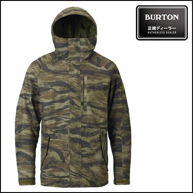 17-18 BURTON バートン ウエア GORE-TEX RADIAL SHELL JACKET ラディアル シェル ジャケット OLIVE GREEN WORN TIGER