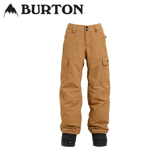 18-19 BURTON バートン ウエア BOYS EXILE CARGO PANT エグザイル カーゴ パンツ KELP キッズ 日本正規品