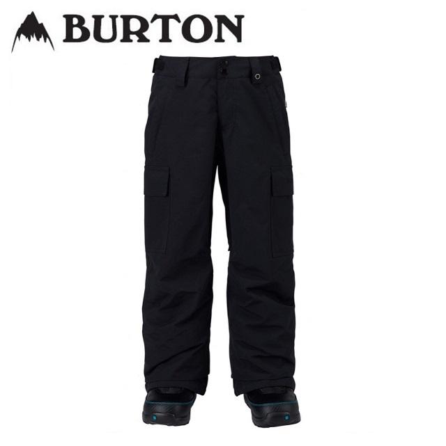 18-19 BURTON バートン ウエア BOYS EXILE CARGO PANT エグザイル カーゴ パンツ TRUE BLACK キッズ 日本正規品