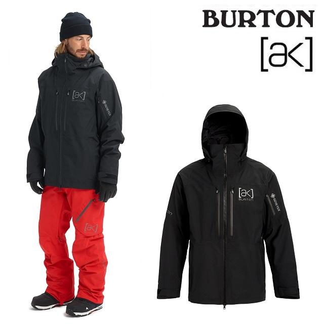 19-20 BURTON AK GORE-TEX SWASH JACKET バートン スワッシュ ジャケット TRUE BLACK ウエア メンズ スノーボード 日本正規品