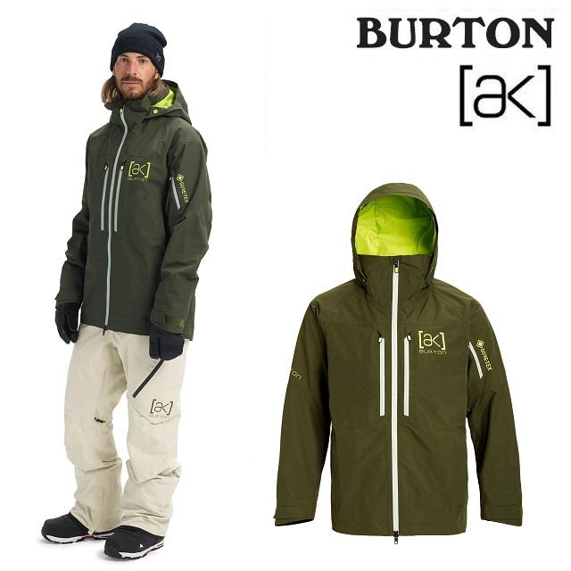 19-20 BURTON AK GORE-TEX SWASH JACKET バートン スワッシュ ジャケット FOREST NIGHT ウエア メンズ スノーボード 日本正規品