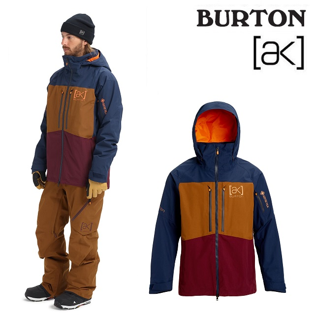 19-20 BURTON AK GORE-TEX SWASH JACKET バートン スワッシュ ジャケット DRESS BLUE / MONKS ROBE / PORT ROYAL ウエア メンズ スノーボード 日本正規品
