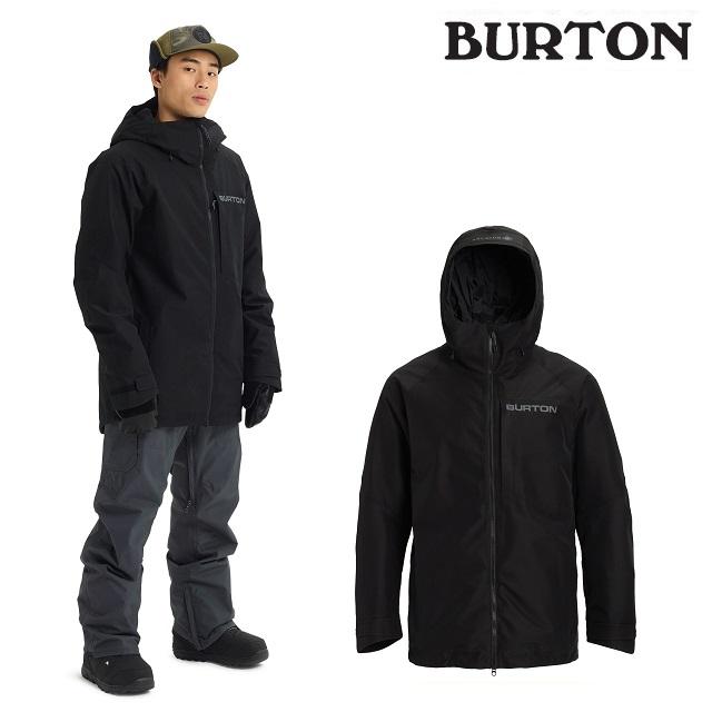 19-20 BURTON GORE-TEX RADIAL SHELL JACKET バートン ラディアル シェル ジャケット TRUE BLACK ウエア メンズ スノーボード 日本正規品