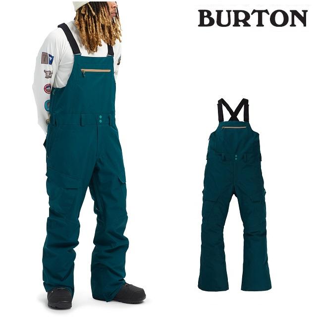 19-20 BURTON GORE-TEX RESERVE BIB PANT バートン リサーブ ビブ パンツ DEEP TEAL ウエア メンズ スノーボード 日本正規品