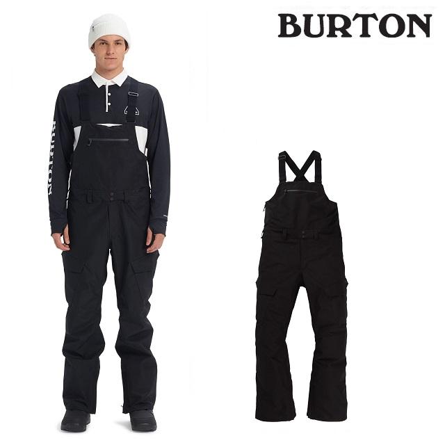 19-20 BURTON GORE-TEX RESERVE BIB PANT バートン リサーブ ビブ パンツ TRUE BLACK ウエア メンズ スノーボード 日本正規品