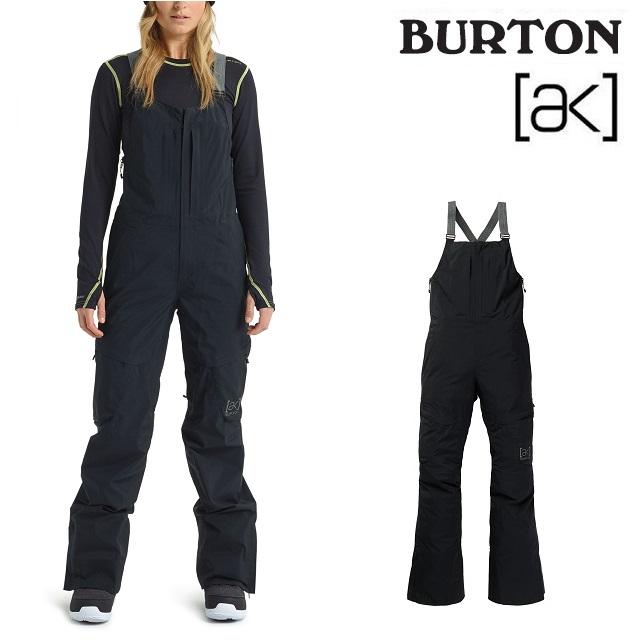 19-20 BURTON AK GORE-TEX KIMMY 2L BIB PANT バートン キミー ビブ パンツ TRUE BLACK ウエア レディース スノーボード 日本正規品