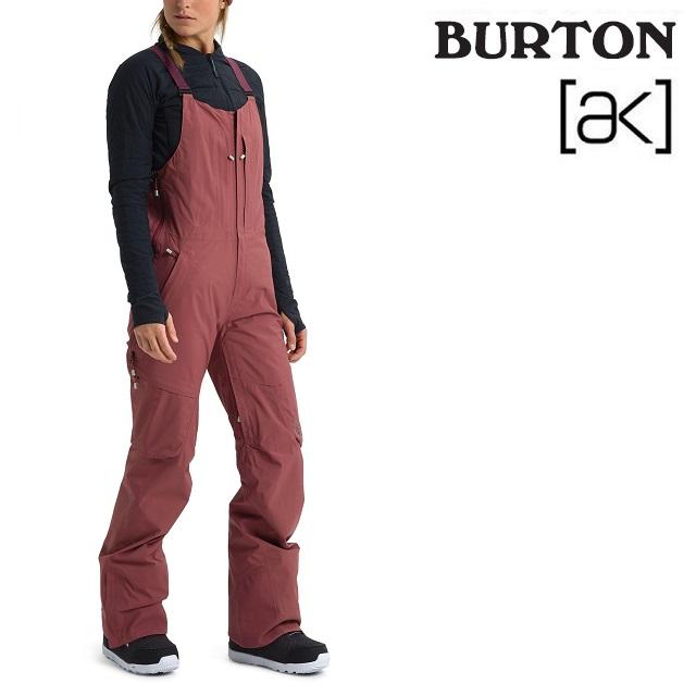 19-20 BURTON AK GORE-TEX KIMMY 2L BIB PANT バートン キミー ビブ パンツ ROSE BROWN ウエア レディース スノーボード 日本正規品