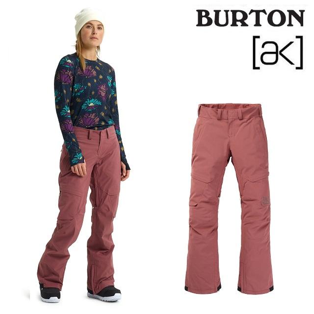 19-20 BURTON AK GORE-TEX SUMMIT PANT バートン ゴアテックス サミット パンツ ROSE BROWN ウエア レディース スノーボード 日本正規品