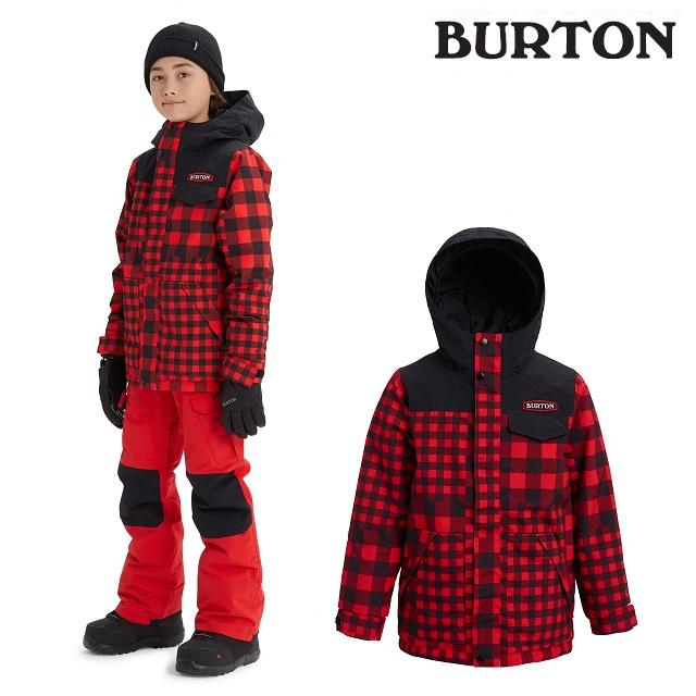 19-20 BURTON KIDS DUGOUT JACKET バートン ドッグアウト ジャケット BUFFALO ウエア キッズ スノーボード 日本正規品