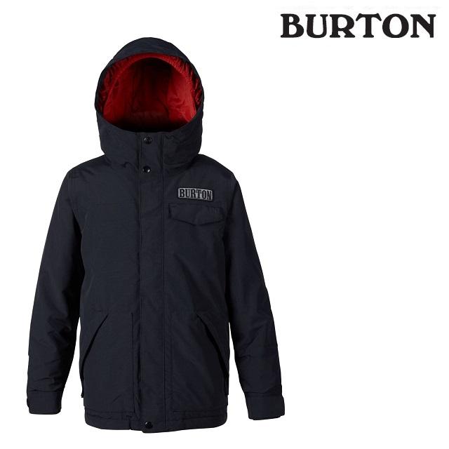 19-20 BURTON KIDS DUGOUT JACKET バートン ドッグアウト ジャケット TRUE BLACK ウエア キッズ スノーボード 日本正規品