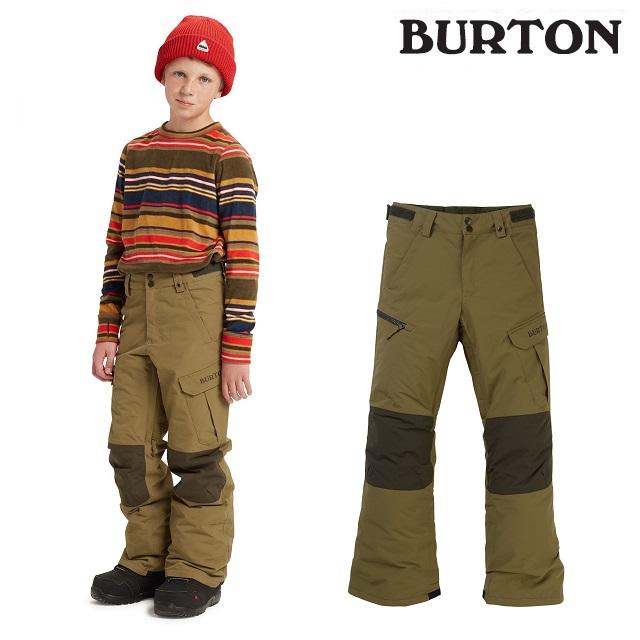 19-20 BURTON KIDS EXILE CARGO PANT バートン エグザイル カーゴ パンツ MARTINI OLIVE ウエア キッズ スノーボード 日本正規品