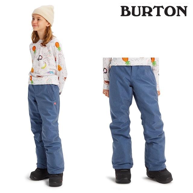 19-20 BURTON KIDS SWEETART PANT バートン スウィートアート パンツ LIGHT DENIM ウエア キッズ スノーボード 日本正規品