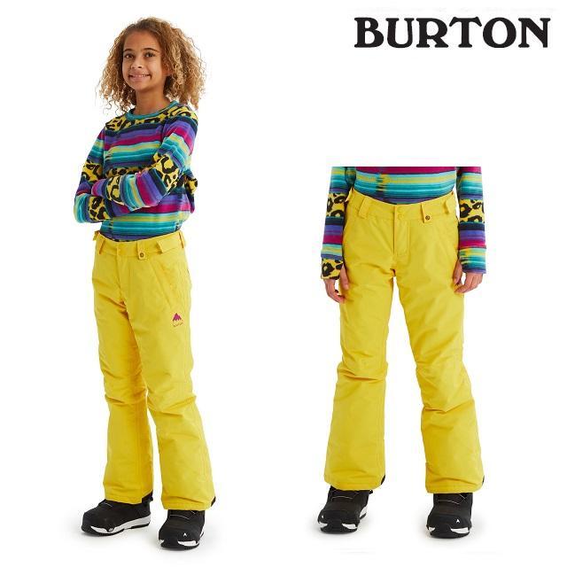 19-20 BURTON KIDS SWEETART PANT バートン スウィートアート パンツ MAIZE ウエア キッズ スノーボード 日本正規品
