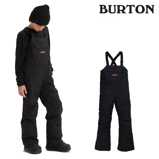 19-20 BURTON KIDS SKYLAR BIB PANT バートン スカイラー ビブ パンツ TRUE BLACK ウエア キッズ スノーボード 日本正規品