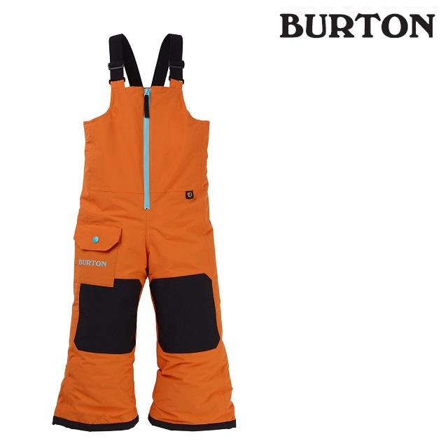 19-20 BURTON TODDLER MAVEN BIB PANT バートン メイベン ビブ パンツ RUSSET ORANGE ウエア キッズ スノーボード 日本正規品