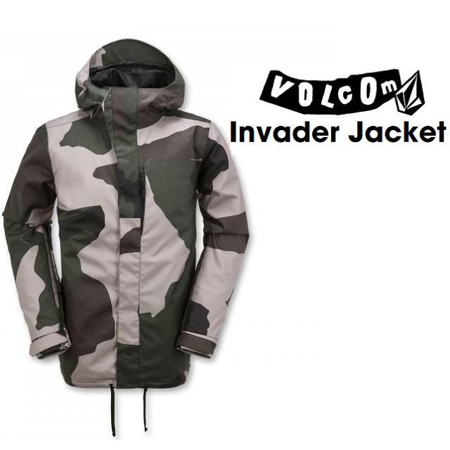 VOLCOM ( ボルコム ) ウエア INVADER JACKET ( インベーダー ジャケット) CAMO