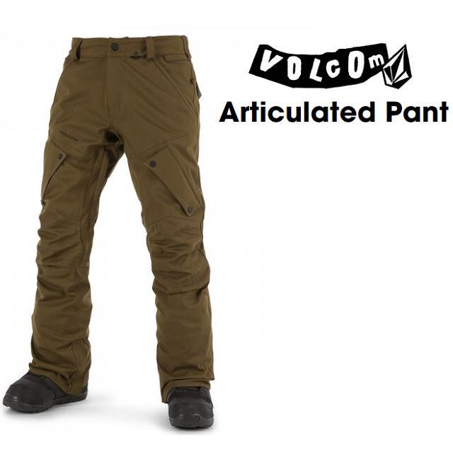 VOLCOM ボルコム ウエア ARTICULATED PANTS アーティキュレーテッド パンツ OLIVE