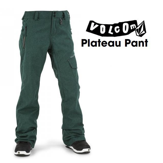 VOLCOM ( ボルコム ) ウエア PLATEAU PANTS ( プラトー パンツ ) MIDNIGHT GREEN [ レディース ]