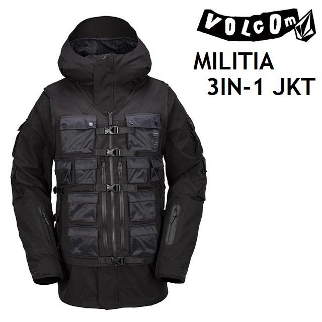 VOLCOM ボルコム ウエア MILITIA 3-IN-1 JACKET ジャケット