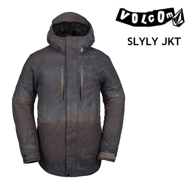 19-20 VOLCOM ボルコム SLYLY JACKET ジャケット BROWN ウエア メンズ スノーボード 日本正規品