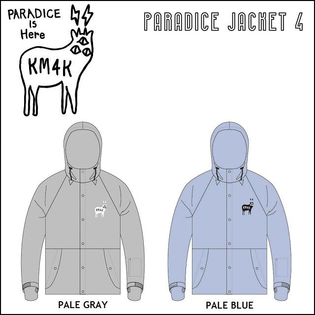 18-19 KM4K カモシカ ウエア PARADICE JACKET 4 パラダイス ジャケット