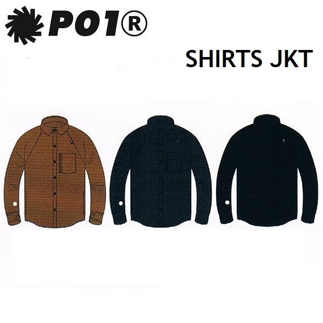 P01 (プレイ) ウエア SHIRTS JACKET(シャツ ジャケット)