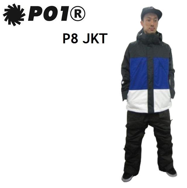 P01 (プレイ) ウエア P8 JACKET(ピーエイト ジャケット) BLACK MIX