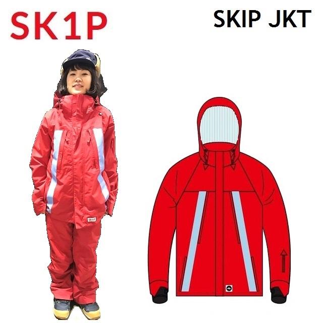 19-20 SK1P スキップ SKIP JACKET ジャケット ウエア レディース スノーボード