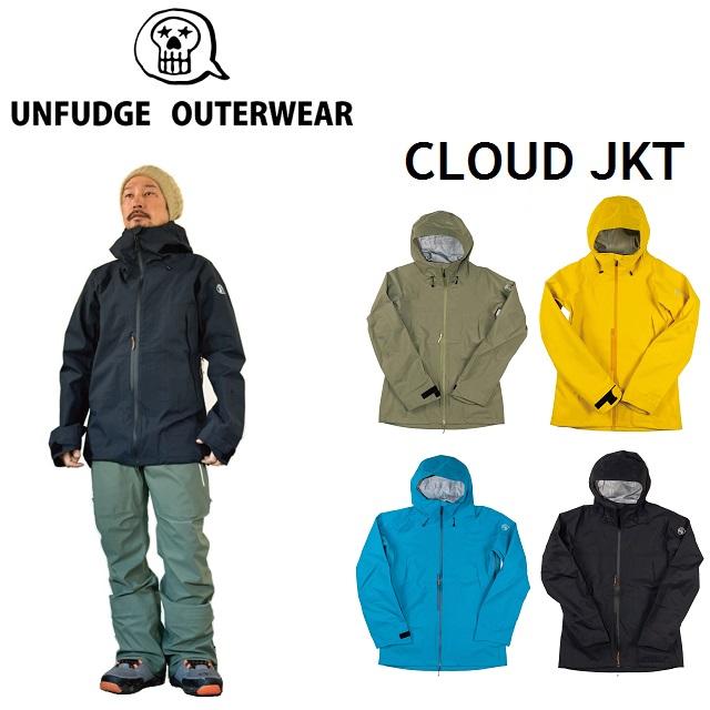 19-20 UNFUDGE アンファッジ CLOUD JACKET クラウド ジャケット ウエア メンズ レディース スノーボード