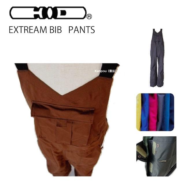 HID エイチアイディ EXTREME BIB PANTS エクストリーム ビブ パンツ 70デニール/GORE-TEX ゴアテックス H.I.D WEAR ウエア zero fighter