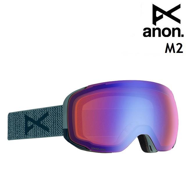 19-20 ANON M2-LAY BACK / SONAR BLUE アノン ゴーグル スノーボード アジアンフィット 日本正規品