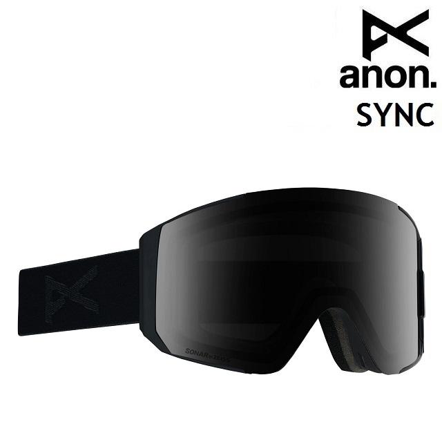 19-20 ANON SYNC SNAP BACK-SMOKE / SONAR SMOKE アノン ゴーグル スノーボード アジアンフィット 日本正規品