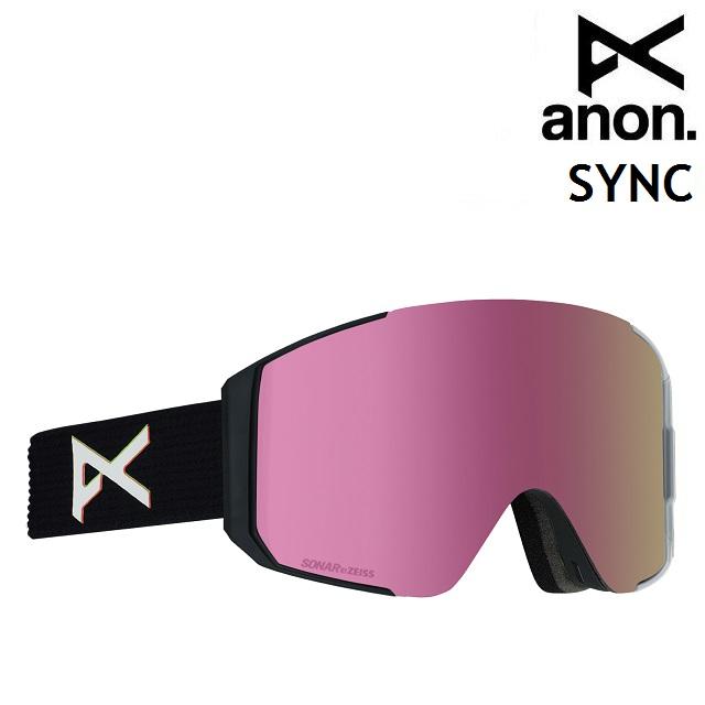19-20 ANON SYNC-TRIP / SONAR PINK アノン ゴーグル スノーボード アジアンフィット 日本正規品
